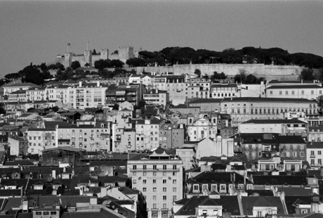 from Elevador de Santa Justa, Lisbon, Portugal, April 2006