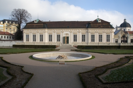 The Orangery, Belvedere, Vienna, Austria, December 2008