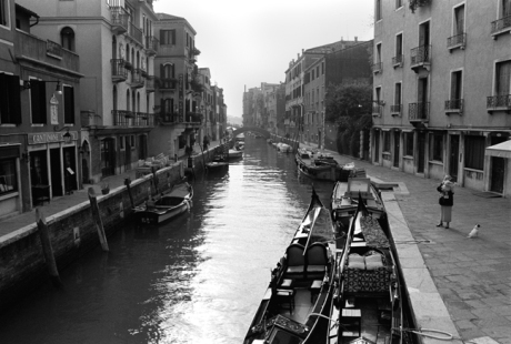 Campo San Vio, Venice, Italy, November 2005