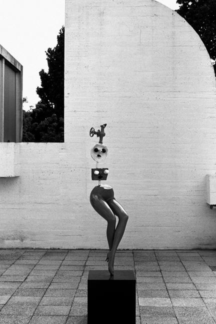 Fundacio Joan Miro, Barcelona, Spain, August 2002