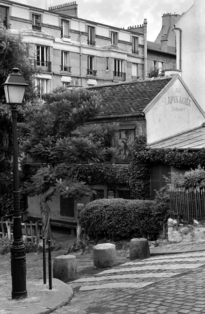 Au Lapin Agile, Paris, France, August 2004