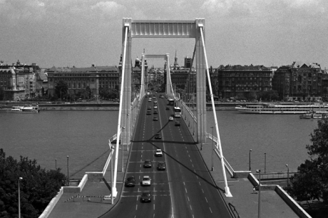 Elizabeth Bridge, Budapest, Hungary, June 2001