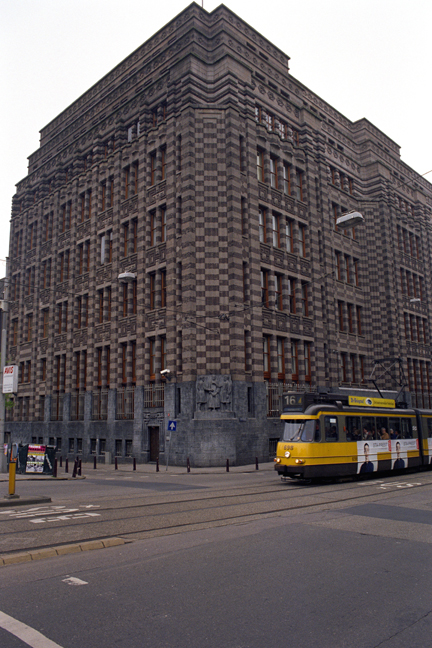Gebouw De Bazel, Amsterdam, Netherlands, April 1999