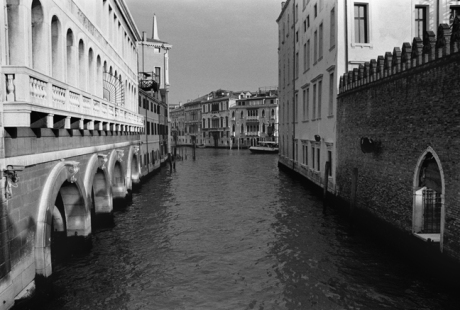 Canal View, Venice, Italy, November 2005