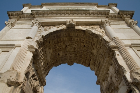 The Arch of Titus, Rome, Italy, May 2009