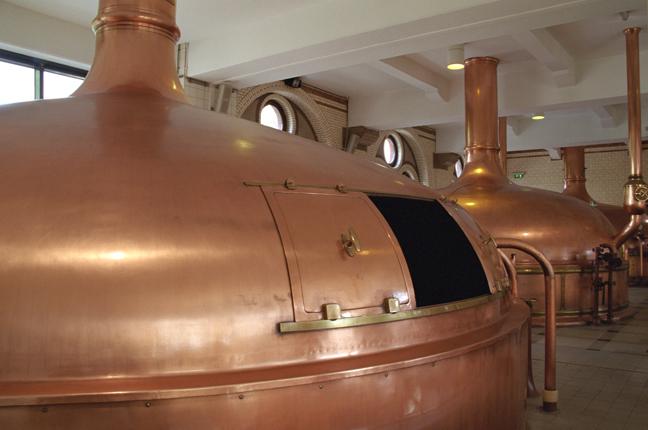 Heineken Brewery, Amsterdam, Netherlands, September 2003