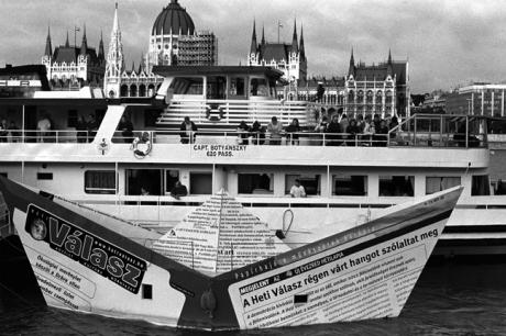 Paper Boat, Budapest, Hungary, June 2001