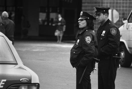 Transit Police, Manhattan, New York, America, April 1995
