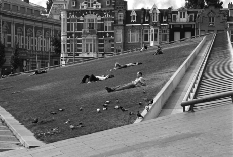 Sunbathers, Amsterdam, Netherlands, September 2003