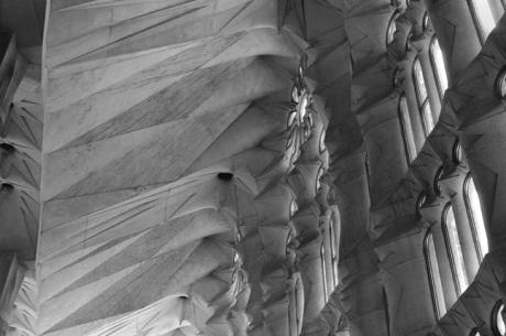 Templo Expiatorio de la Sagrada Familia, Barcelona, Spain, August 2002