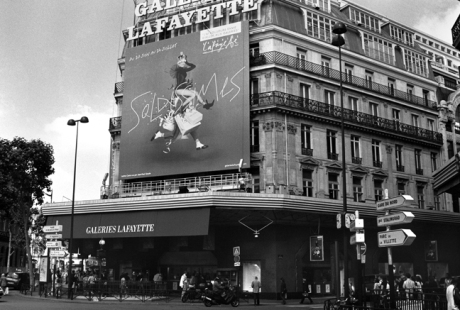 Galeries Lafayette, Paris, France, August 2004