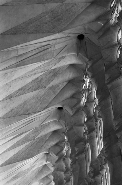 Templo Expiatorio de la Sagrada Familia, Barcelona, Spain, August 2002