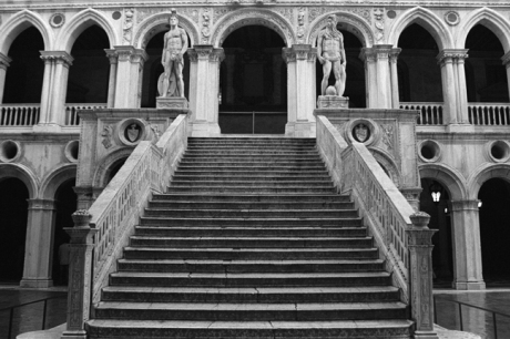 Giants Staircase, Palazzo Ducale, Venice, Italy, November 2005