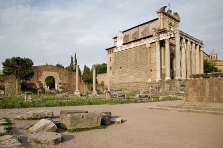 Basilica Aemilia, Rome, Italy, May 2009