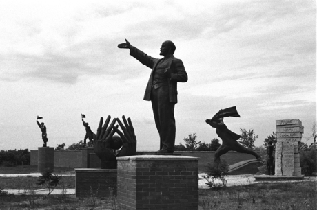 Statue Park (Szoborpark), Budapest, Hungary, June 2001