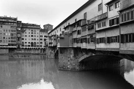 Ponte Vecchio, Florence, Italy, February 2007
