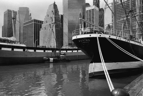 South Street Seaport, Manhattan, New York, America, April 1995