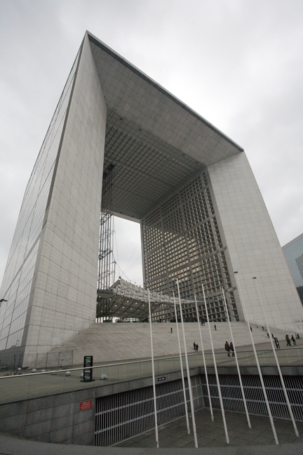 La Grande Arche, Paris, France, January 2010