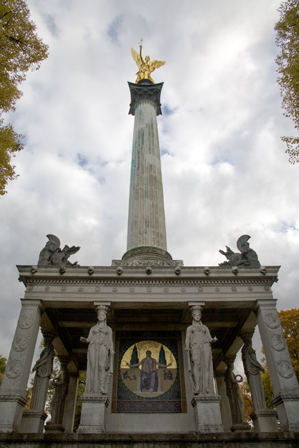 Friedensengel, Munich, Germany, October 2009