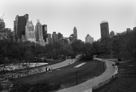Central Park, Manhattan, New York, America, April 1995