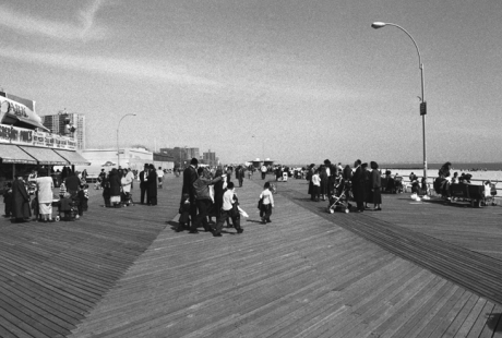 Coney Island, Manhattan, New York, America, April 1995