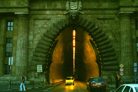 Tunnel, Clark Adam ter, Budapest, Hungary, June 2001