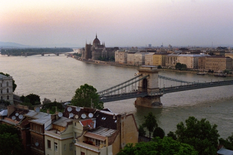 The Danube & Budapest, Budapest, Hungary, June 2001