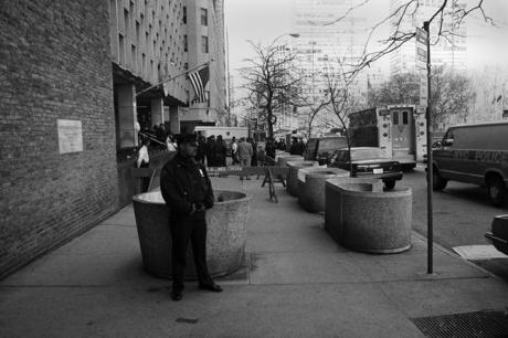 United Nations Plaza, Manhattan, New York, America, April 1995