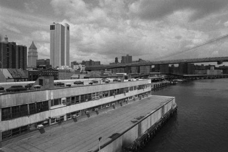 New York Harbour, New York, America, April 1995