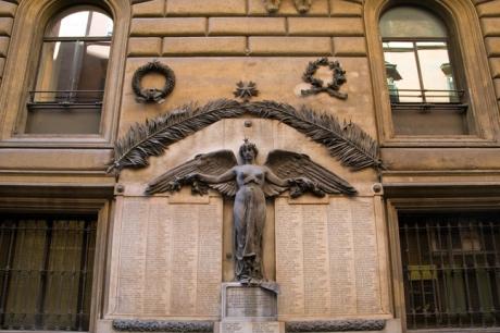 Fascist Memorial, Rome, Italy, May 2009