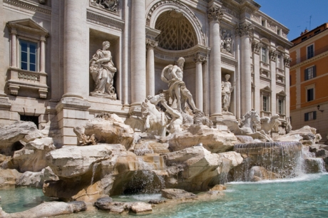 Trevi Fountain, Rome, Italy, May 2009  © Tom O' Connor 2009
