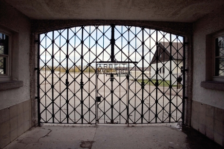 Main Gate, Dachau, Munich, Germany, October 2009