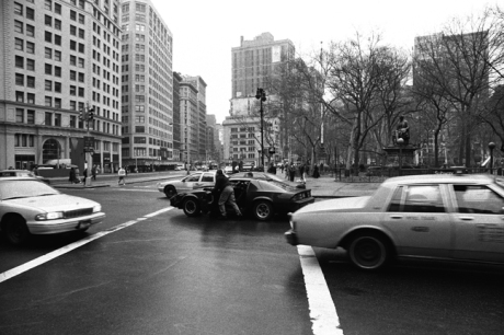 Manhattan, New York, America, April 1995