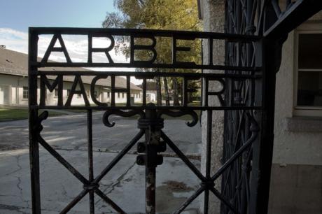 Courtyard, Dachau, Munich, Germany, October 2009