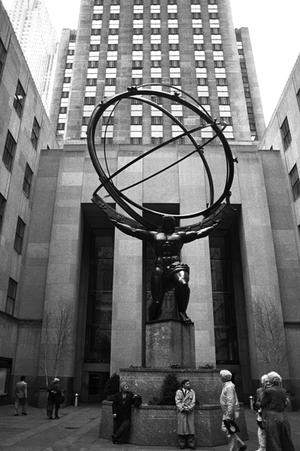 Rockefeller Centre, Manhattan, New York, America, April 1995