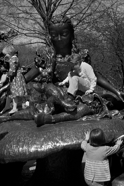 Alice, Central Park, Manhattan, New York, America, April 1995