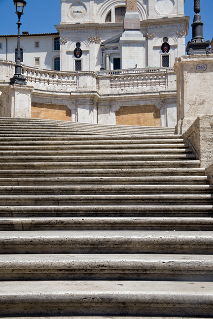 The Spanish Steps, Rome, Italy, May 2009