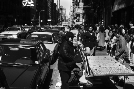 Broadway, Manhattan, New York, America, April 1995