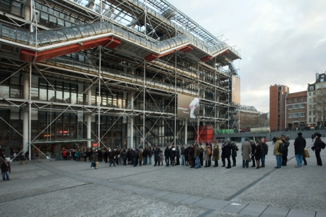 Pompidou Centre, Paris, France, January 2010