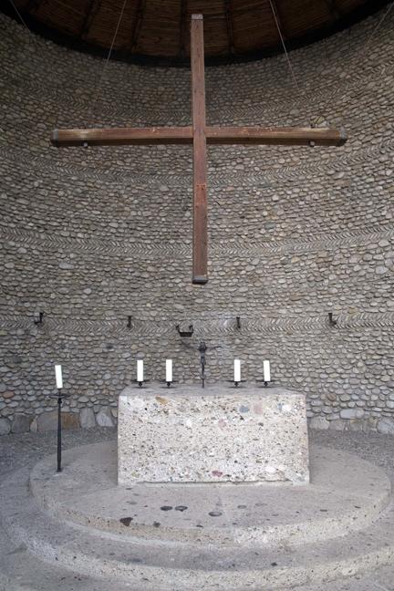 Agony of Christ Chapel, Dachau, Munich, Germany, October 2009