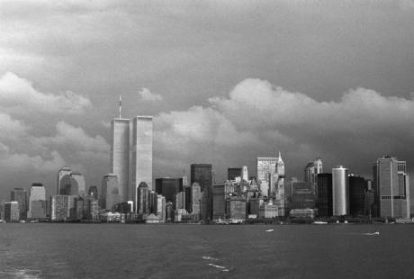 Lower Manhattan, New York, America, November 1997
