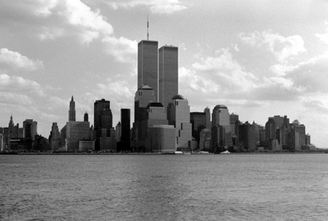 Lower Manhattan, New York, America, November 1997