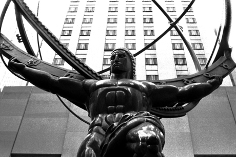 Rockefeller Centre, Manhattan, New York, America, November 1997