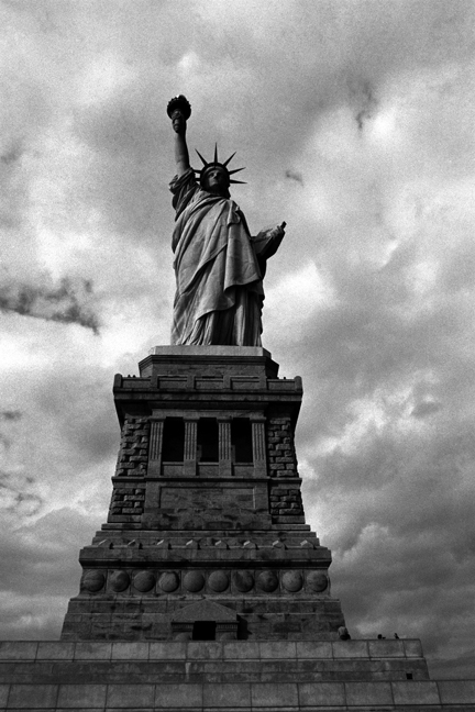 Statue of  Liberty, New York, America, November 1997