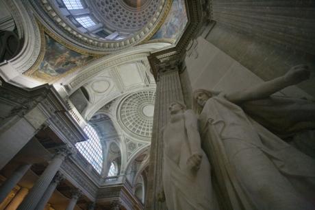 The Pantheon, Paris, France, January 2010