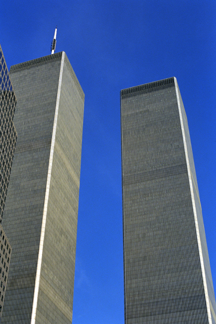 Twin Towers, Manhattan, New York, America, November 1997