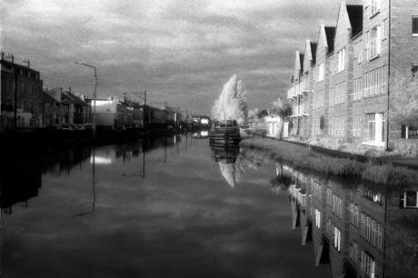 Portobello Harbour, Portobello, Dublin, Ireland, April 1994
