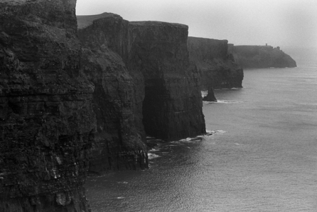 Cliffs of Moher, Co. Clare February 2003