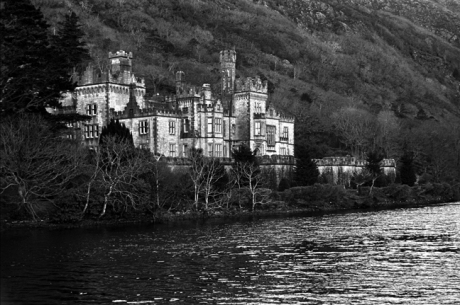 Kylemore Abbey, Connemara, Co. Galway, January 2002
