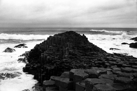 The Giant's Causeway, Co. Antrim, Ireland, February 2000
